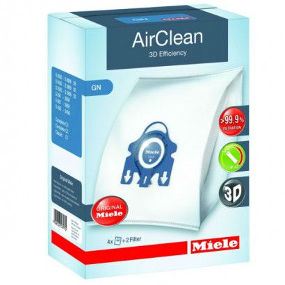 Miele AirClean 3D Efficiency Filter Bags Type GN ·  4 Pack