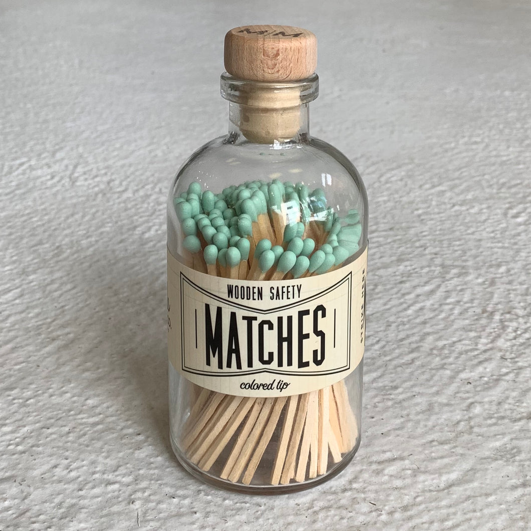 Made Market Apothecary Matches in Mint