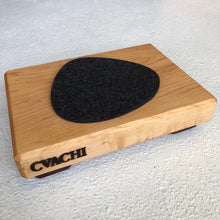 Load image into Gallery viewer, Graf Lantz Felt Trivet Stone Small in Charcoal