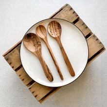 Load image into Gallery viewer, Be Home Olive Wood Serving Spoon