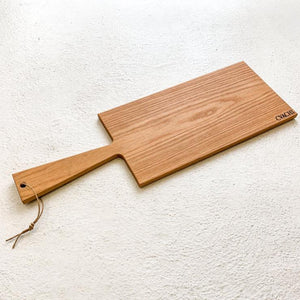 CVACHI Charcuterie Board in Red Oak