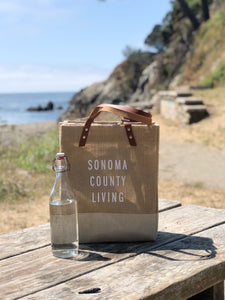 Sonoma County Living Apolis Wine Tote
