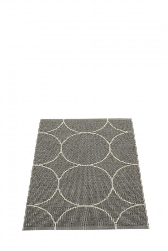 Pappelina Boo Rug · Charcoal Linen · 2.25' x 3.25'