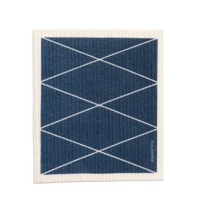 "Pappelina Max Swedish Dish Cloth · Ocean Blue · 6.75"" x 7.75"""
