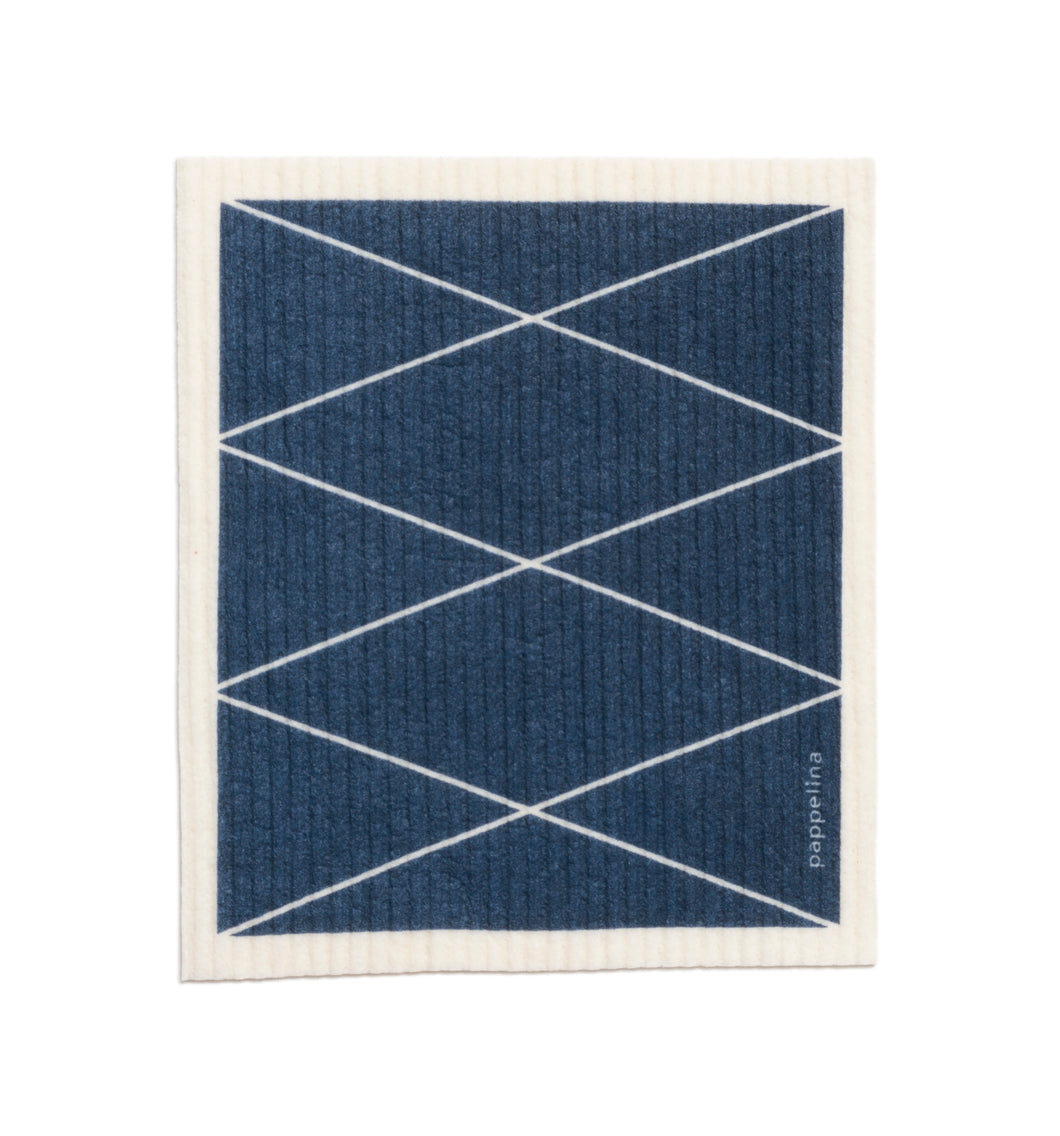 Pappelina Max Swedish Dish Cloth · Ocean Blue · 6.75