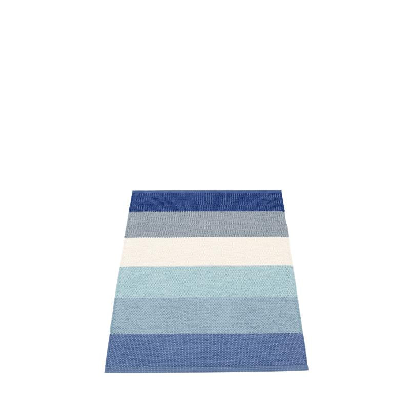 Pappelina Molly Rug · Sky · 2.25' x 3.25'