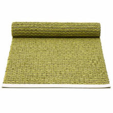 "Load image into Gallery viewer, Pappelina Table Runner · Olive / Lime · 14"" x 39"""