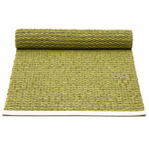 "Pappelina Table Runner · Olive / Lime · 14"" x 39"""