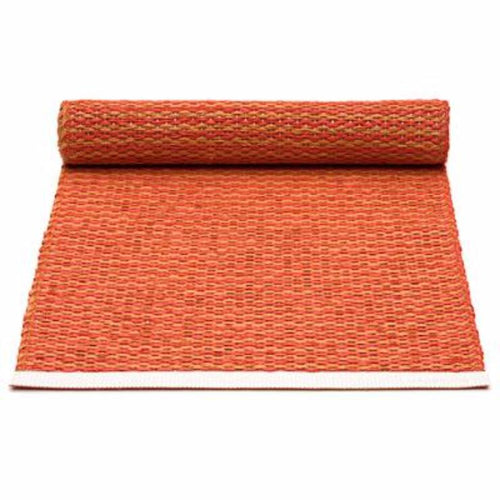 Pappelina Table Runner · Pale Orange / Coral Red · 14