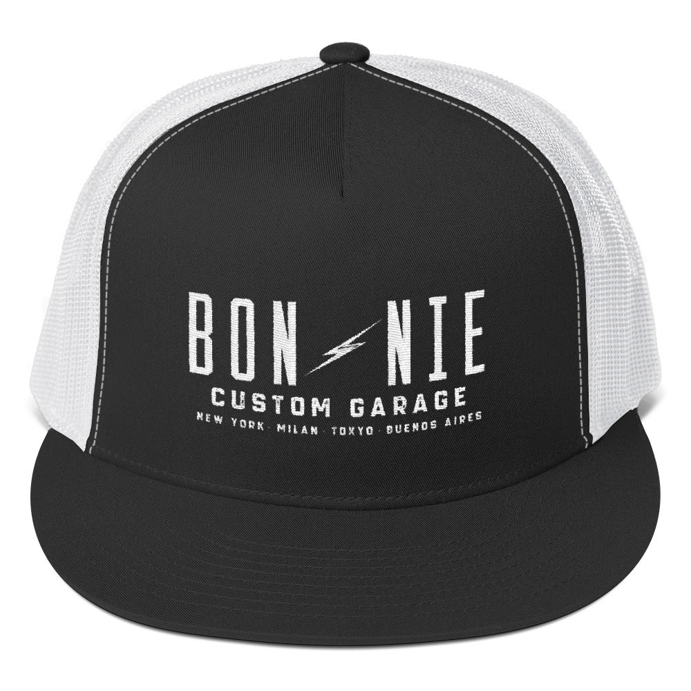 Bonnie Cities Trucker Cap - Bonnie Custom Garage