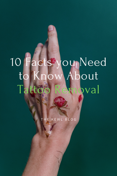 10 Facts You Need to Know About Tattoo Removal - Pinterest Banner   l