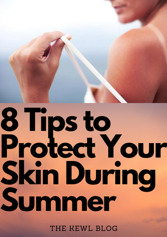Pinterest banner - protect skin during summer