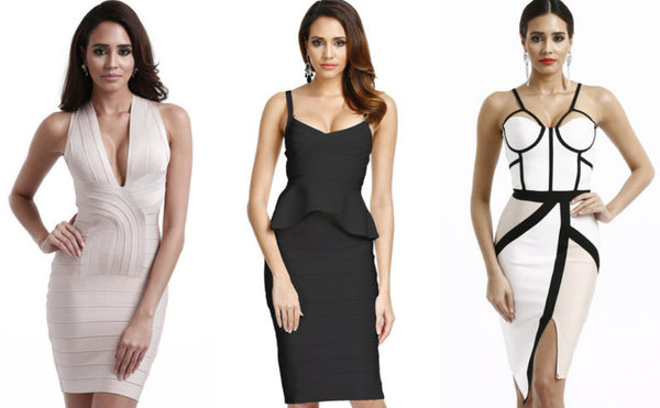 aries bandage dresses