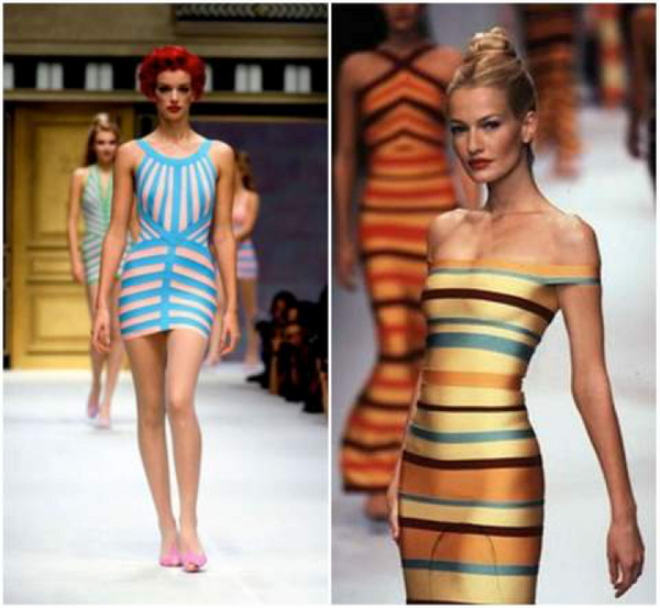 Bandage dress models