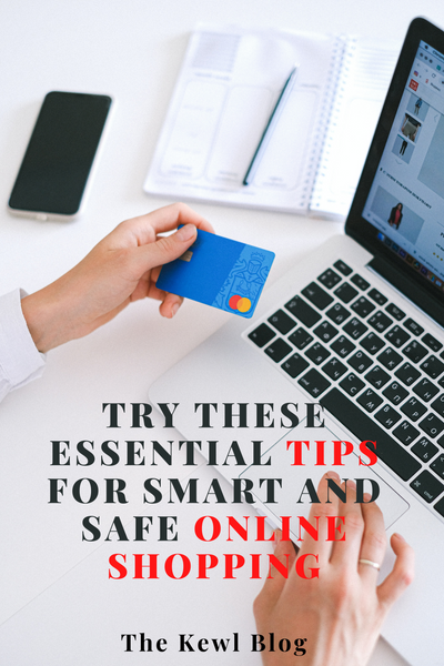 Pinterest Banners - Tips for Smart and Safe Online Shopping
