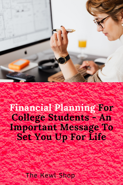 Pinterest Banners - Financial Planning For College Students