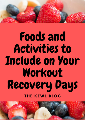 Pinterest banner - foods for recovery days