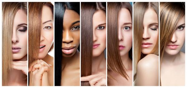 match hair to skin tone image
