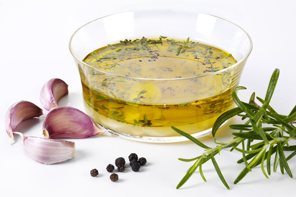homemade lemon herb dressing