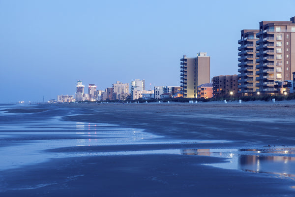 Beach in South Padre Island, Texas