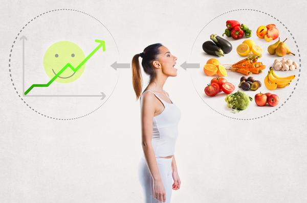 girl consuming healthy food for increased brain power
