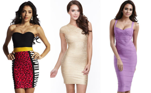 Bandage dress for Gemini girls