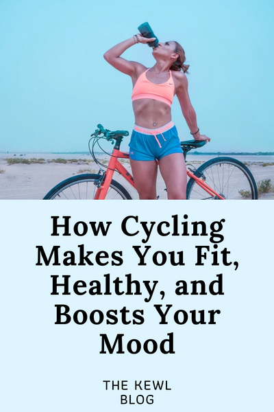 Pinterest pin - cycling is good for you