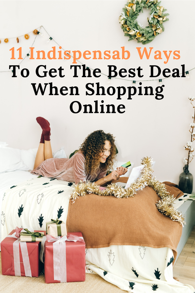 Pinterest Banner - 11 Indispensable Ways To Get The Best Deal When Shopping Online