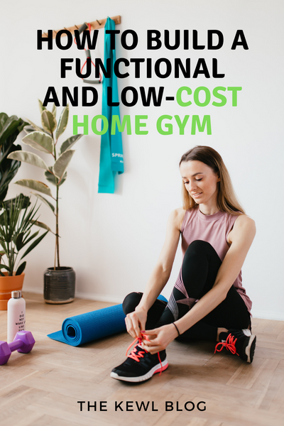 Pinterest Banner - How To Build A Functional and Low-Cost Home Gym