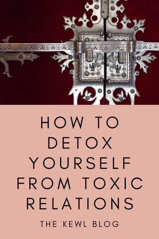 Pinterest banner - How to detox from bad relationship
