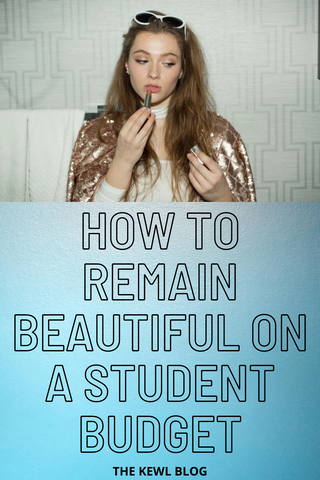 Pinterest Banner - Beauty on a student budget