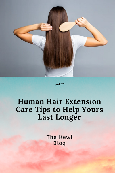 Pinterest Banners - Human Hair Extension Care
