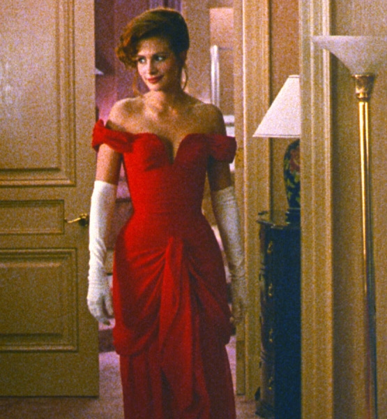 Julia Roberts Red Dress from Pretty Women