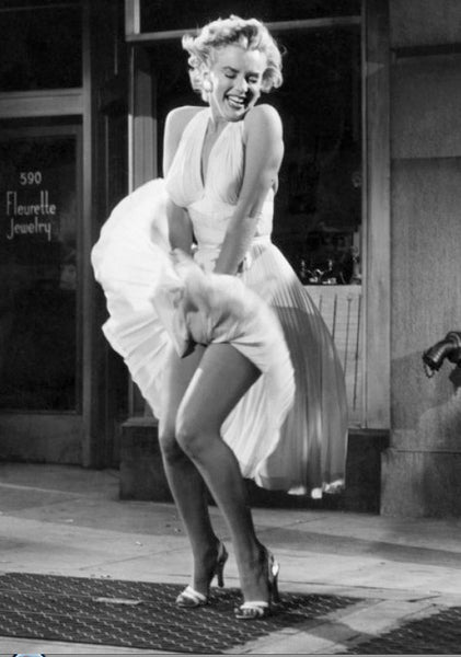 marilyn monroe famous white dress pose