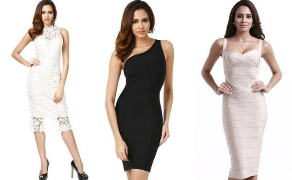 feminine bandage dresses for pisces