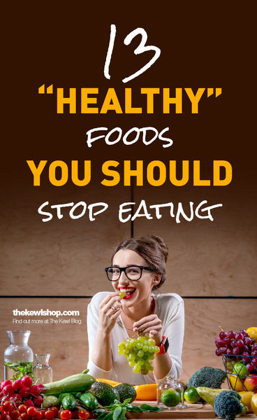 "13 ""Healthy"" Foods You Should Stop Eating, Pinterest, infographics"