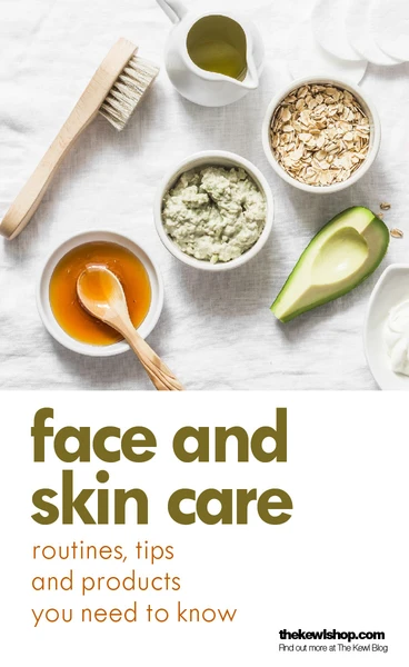 Banner - Face and skincare