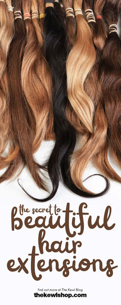 The Secret To Beautiful Hair Extensions, Pinterest