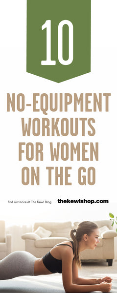 10 No-Equipment Workouts for Women on the Go, Pinterest