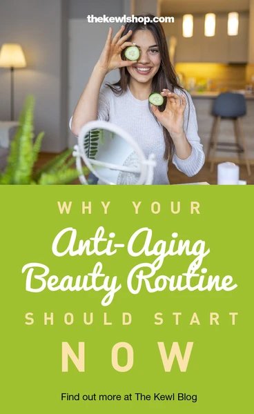 Pinterest banner - antiaging routine