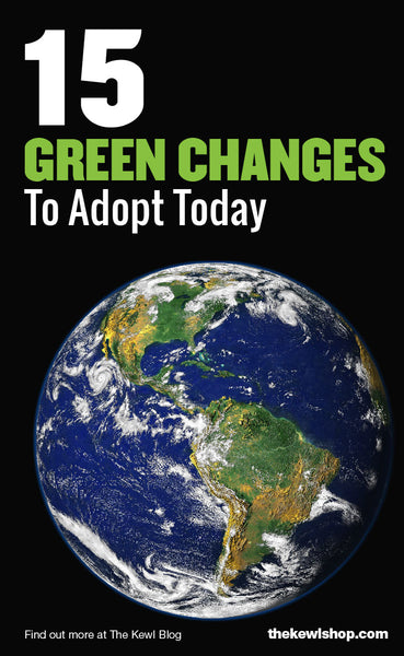 15 Green Changes To Adopt Today, Pinterest
