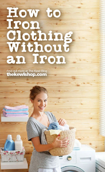 How to Iron Clothing Without an Iron, Pinterest