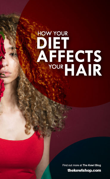 How Your Diet Affects Your Hair, Pinterest