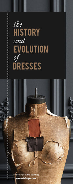 The History and Evolution of Dresses, Pinterest