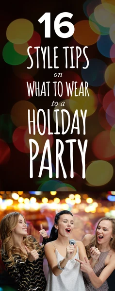 Banner - style tips for holiday parties