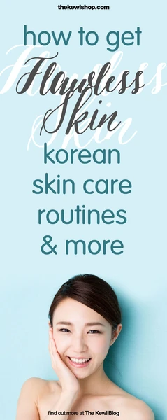 Pinterest banner - How to get flawless skin