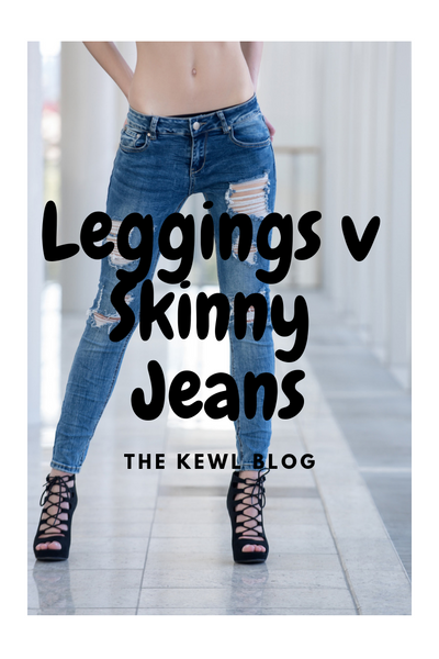Infographic - leggings v skinny jeans
