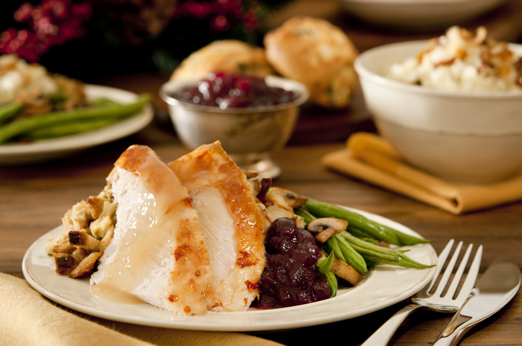 what to put on your plate for thanksgiving