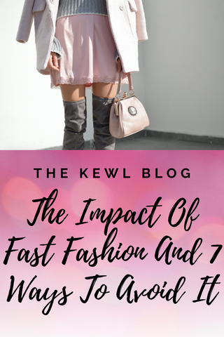 Pinterest banner - Fast Fashion Impact