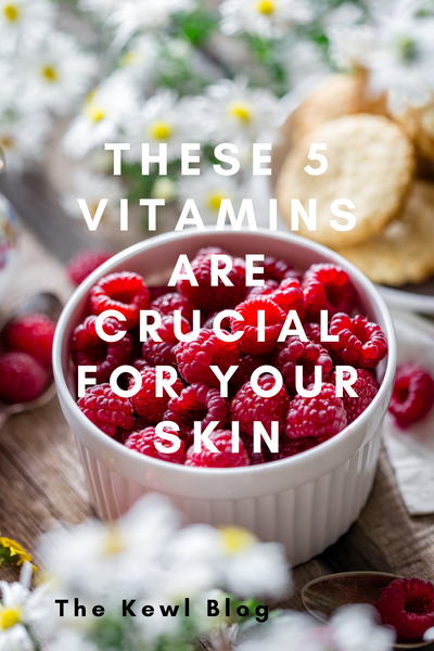Pinterest Banners - These 5 Vitamins Are Crucial For Your Skin